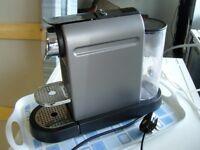 Krups Nespresso XN720T Cappuccino Coffee Maker. Good Working Order