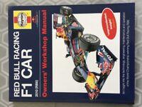 Haynes Red Bull Racing F1 Car Owners Workshop Manual