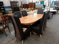 Large Dining Table With Six Chairs delivery available