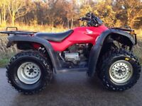 HONDA TRX 350 4x4 FOURTRAX QUAD ATV 420 500 250 300