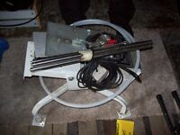 Clay pigeon electric ejector machine