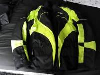 Mens textile jacket