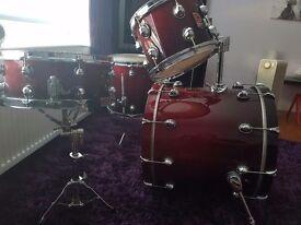Premier Genista drumkit