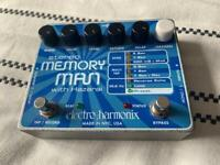 EHX Memory Man with Hazarai - delay electric guitar / synth pedal
