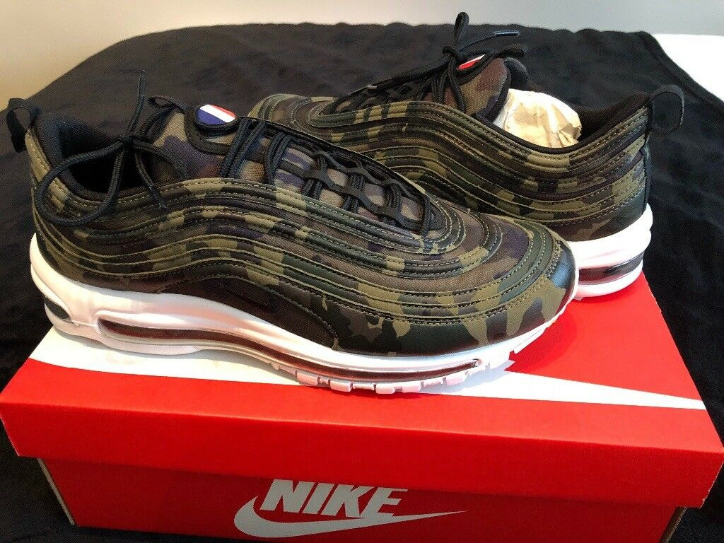 9b3486ebb2 Nike Air Max 97 Camo (France) in UK size 10 | in Shoeburyness ...