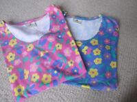 2 X COTTON T SHIRTS - JUMPERS DESIGN - BRAND NEW SIZE 12