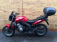 Honda CBF600 125cc *Low Mileage, FSH & Top Box*