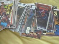 MARVEL AND DC COMICS FOR SALE. £1 EACH, SOME ARE CHEAPER