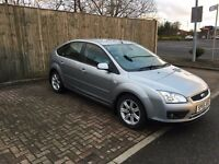 FORD FOCUS 1.6 GHIA 2005 115BHP 5DR PETROL FULL SERVICE HISTORY LONG MOT 2 KEYS BLUETOOTH USB AUX