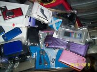 well over 300 mobile phone covers , casses , pouches, all new. swaps