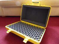 Underwater Kinetics Equipment dry case with foam