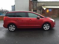 2010 Peugeot 5008 1.6 Hdi Exclusive MPV 12 Months Mot Ready To Go Superb Condition **7 Seater** PX