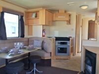 Cheap Used Static Caravan Sited For Sale In Borth. 12 Month Season, Pet Friendly, Ceredigion, Wales.