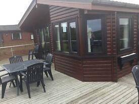 Luxury 3 Bedroom Holiday Home / Lodge - Log Cabin near Kirkcudbright