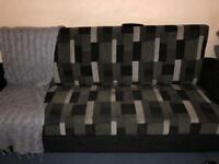 Sofa bed with storage quick sale, no time wasters!!