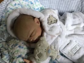 """Reborn Ltd edition Jed kit by """"Carrie George"""" 98 of 150;"""