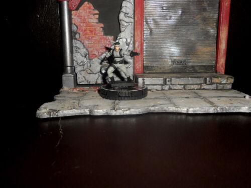 CUSTOM Heroclix SOLID SNAKE - Metal Gear Solid Figure Miniature Game Soldier