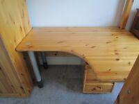 Flexa Classic Underbed shaped Desk