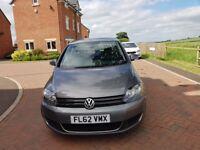 volkswagen golf plus SE TDI very low mileage 66700 excellent condion sep 2012 5 door