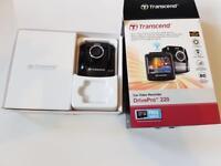 Brand new twin transcend drive pro 220 car video recorder