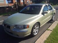 2006 Volvo S60 2.0 T SE 4dr ## CAM-BELT JUST BEEN DONE ## AIRCON ## 1 YEARS MOT # 1 OWNER FROM NEW