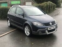 "Volkswagen Golf plus, ""Dune"" 1.9 Tdi PD, Full Service History"