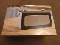 Bush Classic Stereo FM Radio - Brand New In Box