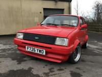 Austin Metro 1275 Red Hot edition project