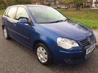 2006 V W POLO S 75 (AUTOMATIC) 1.4 PETROL ONE FORMER KEEPER FULL V W DEALER SERVICE HISTORY