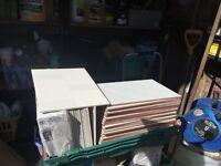 22 Laura Ashley HighgateCreamField WallTiles25cmx33cm 1.8sqm 26 Off White Wall Tiles 35cmx23cm 2 Sqm