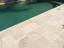 Travertine Tumbled Pavers Classic Travertine 30mm City North Canberra Preview