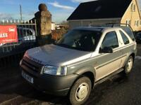 LAND ROVER FREELANDER 1.8 GS (51) MOT JUNE 18 , Trad in to clear £495