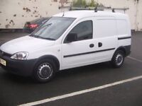 VAUXHALL COMBO 2007 1.3 CDTI DIESEL, LOW MILES 61K, HEAVY DUTY ROOF RACK, SLD, FULLY SERVICED