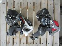 Rear Derailleurs -Various  Shimano Tourney sis index $20 each