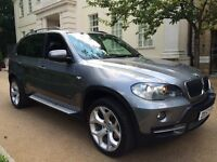 BMW X5 3.0d 7 setar 2008 full servis history hpi clear p/x welcome