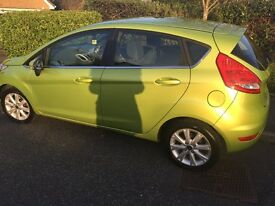 60 plate Ford Fiesta zetec 1.25 l for sale