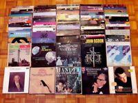 270 Vinyl Records Classical Music Collection Mozart Beethoven Wagner Brahms Opera LP Joblot Job lot