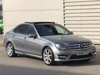 Mercedes-Benz C Class C200 CDI BlueEFFICIENCY Sport Edition 125 7G-Tronic 4dr**PAN ROOF* NAV*a4 320d