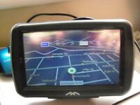 Satellite Navigation GPS With Power Charger Holder 2 in 1 & cigrette lighther working condition