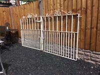 Set Of Wrought Iron Driveway Gates