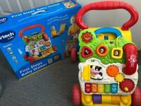 Vtech First Steps Baby Walker with Box