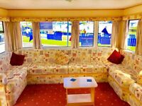 CHEAP 3 BEDROOM CARAVAN FOR SALE, DOUBLE GLAZED HEATED, 2017 FEES INCLUDED, CHEAP FEES!!!!
