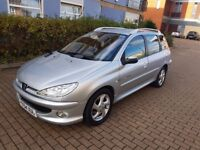 Peugeot 206 Estate 1.4 new MOT immaculate condition