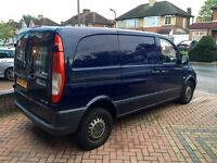 2006 Mercedes Vito 109 SWB Short 2.2 Cdi Diesel 639 Panel Van 3 Seater ROAD TAX and MOT