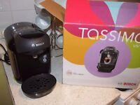 Bosch Tassimo Vivy TAS1252GB 2 Cups Espresso Machine - Black