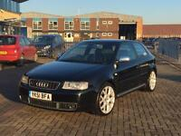 Audi S3 quattro 2001 stage 1 remap Full Service History