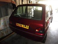 Rover 100 Kensington 1995 Spares or repair