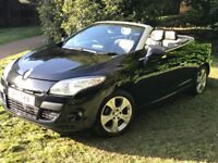 Renault Megane 1.4TCe Dynamiuqe (Tom Tom)Convertible 2011 in BLACK