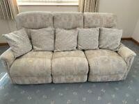 Lazy boy settee and arm chair