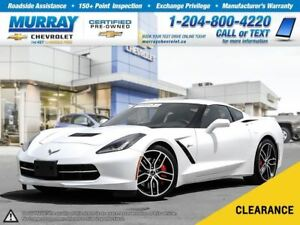2016 Chevrolet Corvette Stingray Z51 *OnStar, Leather Seats*